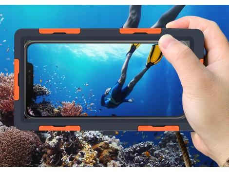 Coque  Etanche Waterproof 15m  Plongee pour Smartphone iPhone Samsung