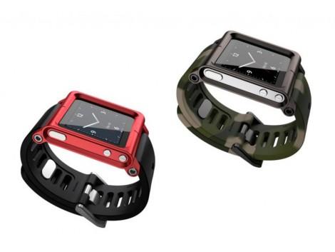 LunaTik Bracelet Montre Multi Touch pour Apple  iPod Nano 6