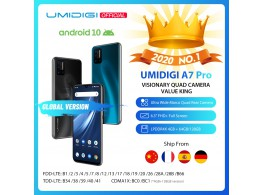 "Telephone A7Pro 6.3"" FHD 4G 2 Sim 5 Camera Android 10"