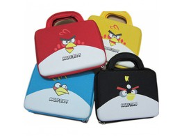 ANGRY BIRDS Housse Sacoche Poignee  iPad Tablette 10""