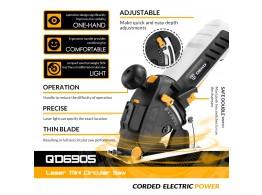 Mini Scie Circulaire Pro Laser 4200t/mn en Box