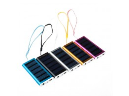 Mini Chargeur Solaire 1350mAh iPhone Samsung