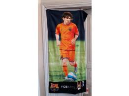 Barca Leo Messi FC Barcelone Serviette Plage