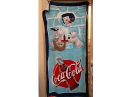 Coca Cola Serviette Plage Bain