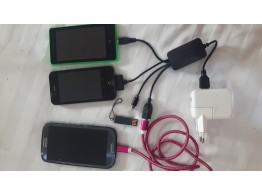 Hub USB Multi 8/30 pin Micro USB USB  iPhone iPad Samsung Android Mp3 GPS