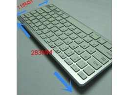 Clavier Bluetooth QWERTY Sans Fil Mac PC Tablette Android Smartphone PS4