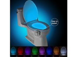 Lampe Cuvette WCToilettes LED 8 couleurs