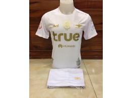 Football Equipe Thailande Maillot Officiel Short BANGKOK UNITED FC Blanc
