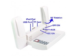 Dock Audio Multi Fonction Portable pour iPhone iPad iPod PC USB MP3