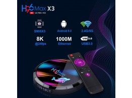 Smart Tv Box H96Max X3 8K ANDROID