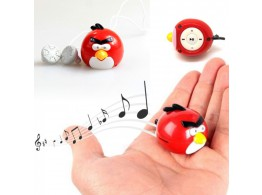 ANGRY BIRDS  MP3 Player + MicroSD 2GB + Ecouteurs + adaptateur USB