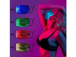 Masque de Protection LED 7 Couleurs Rechargeable