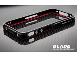 BLADE Metal Case Coque Bumper Alu iPhone 4 Tiger Design