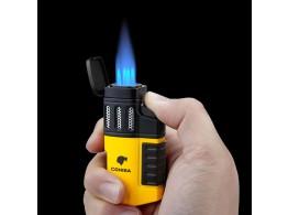 Briquet Chalumeau Cigare Cohiba 4 Torches