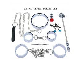 Kit BDSM Bondage Acier Inox