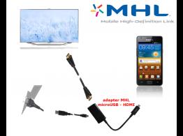 Adaptateur HDTV HDMI Samsung Galaxy S2/ Note MHL