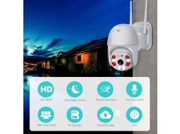 Camera IP Wifi Videosurveillance Exterieur Motorise FHD Audio IP66