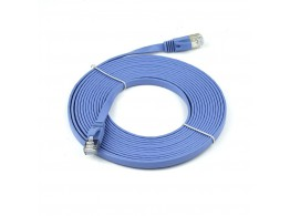 Cable Reseau Ethernet Gigabit  RJ45 Cat 6/6a Extra Plat