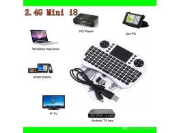 Telecommande Mini Clavier Sans Fil  Pave Tactile Air Mouse Riitek