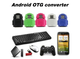 Adaptateur Micro USB 2.0 OTG  Android Telephone Tablette