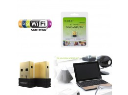 EDUP EP-N8553 Cle USB WiFi N 150Mbps  Dongle Ralink Chipset, Win / Mac / Linux
