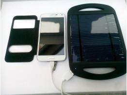 Chargeur Solaire USB pour iPhone  Samsung GPS MP3