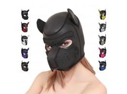 Masque Chien Bondage BDSM