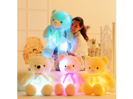 OURS Peluche 45cm Lumineux LED