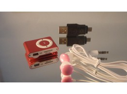 MP3 Player Card Reader + MicroSD 2GB + ecouteurs + adaptateur  USB