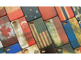 Coque Case Drapeau Flag Vintage Apple iPhone Samsung Galaxy Note