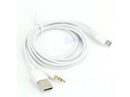 Cable Audio Auto Jack USB  Micro USB  Samsung