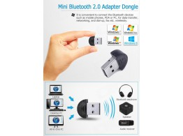 Bluetooth Cle USB Adaptateur 2.0 PC