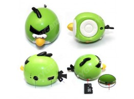 Angry Birds Lecteur MP3 Player Card Reader Ecouteurs Headphone Carte Micro SD