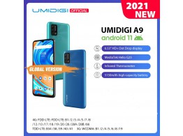 """Telephone A9 6.53"""" 4G 2 Sim 4 Camera Android 11"""