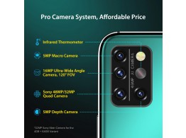 """Telephone A9PRO 6.3"""" FHD 4G 2 Sim 5 Camera Android 10"""